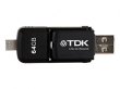 TDK 2in1 micro USB/USB 64GB pen drive