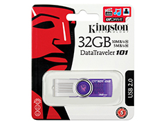Kingston DataTraveler 101 G2 32GB lila pen drive