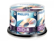 Philips DVD-R * 50 Cake Box írható DVD